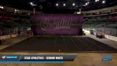 Star Athletics - Senior White [2021 L3 Senior] 2021 Coastal: The Garden State Battle