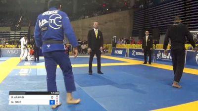 DIOGO ARAUJO vs MATHEUS DINIZ 2018 Pan Jiu-Jitsu IBJJF Championship