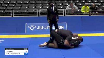 LUKE ELDERS vs CORY HEATH JOHNSON 2021 World IBJJF Jiu-Jitsu No-Gi Championship
