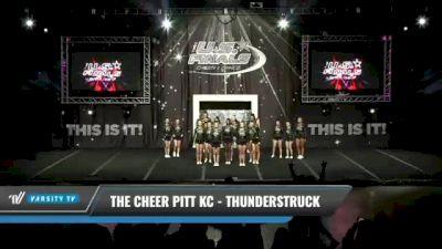 The Cheer Pitt KC - Thunderstruck [2021 L3 Junior Day 1] 2021 The U.S. Finals: Kansas City