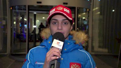 Maria Goroshko RUS 2018 World Youth Latin
