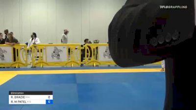 RAYRON GRACIE vs ROHAN M PATEL 2020 Atlanta International Open IBJJF Jiu-Jitsu Championship