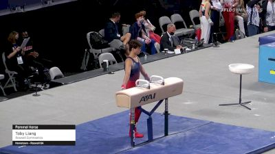 Toby Liang - Pommel Horse, Roswell Gymnastics - 2021 US Championships