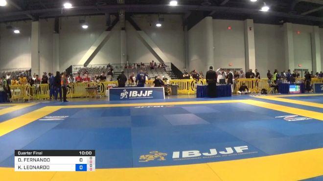 ORLANDO FERNANDO CASTILLO ANDAVI vs KENNEDY LEONARDO MACIEL 2019 American National IBJJF Jiu-Jitsu Championship