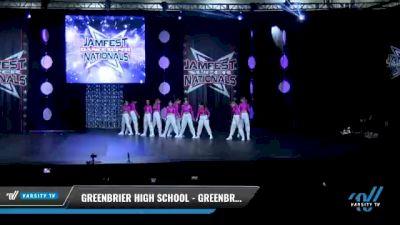 Greenbrier High School - Greenbrier High School Showstoppers [2021 Varsity - Hip Hop Day 2] 2021 JAMfest: Dance Super Nationals