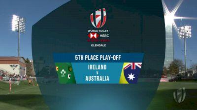 Ireland 7s vs Australia 7s 5th Place Play-Off | 2018 HSBC Women's 7s Colorado