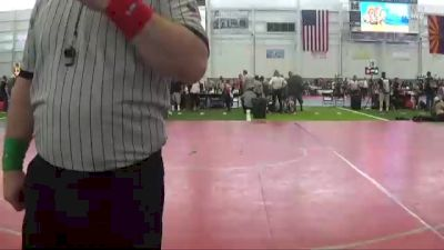 98 lbs Consi Of 8 #2 - Koda Wright, Driller WC vs Steven Robles, Roughriders