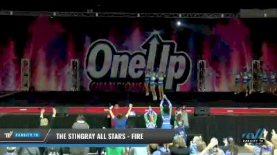 The Stingray All Stars - Fire [2021 L3 - U17 Day 2] 2021 One Up National Championship