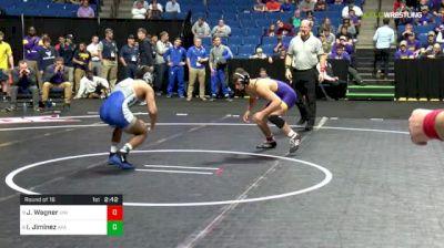 133 lbs Round of 16 - Jack Wagner, Northern Iowa vs Issac Jiminez, Air Force