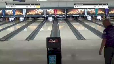 Replay: Lanes 11-12 - 2021 PBA FloBowling Jonesboro Open - Match Play