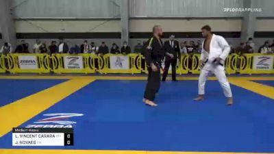 LAWRENCE VINCENT CARARA vs JONATAS NOVAES 2020 American National IBJJF Jiu-Jitsu Championship