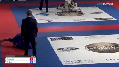 Jarrah Alhazza vs Wanki Chae 2018 Abu Dhabi World Professional Jiu-Jitsu Championship