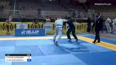 SEAN ALVIN CUMBERBATCH vs ALFONSO SALINAS GARCIA JR. 2021 Pan Jiu-Jitsu IBJJF Championship