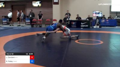 57 kg Rnd Of 32 - Justin Cardani, IRTC vs RayVon Foley, TMWC