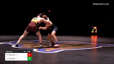 126 lbs Final - Jake Rundell, Oak Park River Forest (IL) vs Dylan Ragusin, Montini Catholic