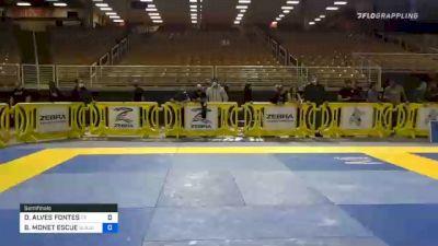 DANIELLE ALVES FONTES vs BIANCA MONET ESCUE 2020 World Master IBJJF Jiu-Jitsu Championship
