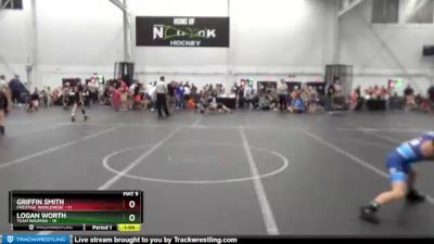 68 lbs Round 2 (4 Team) - Logan Worth, Team Nauman vs Griffin Smith, Prestige Worldwide