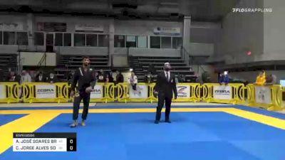 ALEF JOSÉ SOARES BRITO DE MORAIS vs CARLOS JORGE ALVES SOUZA 2020 American National IBJJF Jiu-Jitsu Championship