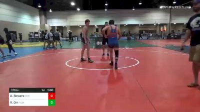 170 lbs Consolation - Aiden Bowers, Christian Brothers High School Wrestling vs Riley Orr, Florida