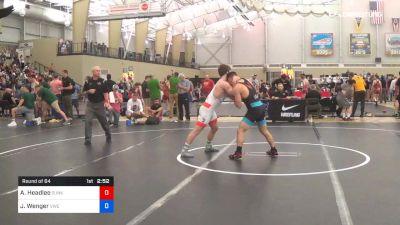 70 kg Round Of 64 - AC Headlee, Sunkist Kids Wrestling Club vs Joshua Wenger, Viking Wrestling Club