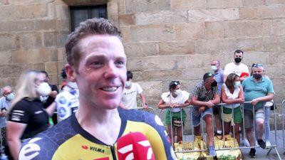 Steven Kruijswijk: 'We Fight For Each Other' Stage 21 - 2021 Vuelta A España