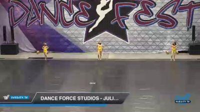 Dance Force Studios - Juliet/Zoey/Hailey-Jazz [2021 Tiny - Duo/Trio - Jazz Day 2] 2021 Badger Championship & DanceFest Milwaukee