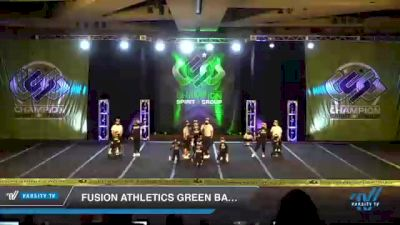 Fusion Athletics Green Bay - Legacy [2021 L2 - CheerABILITIES - Exhibition Day 3] 2021 CSG Super Nationals DI & DII