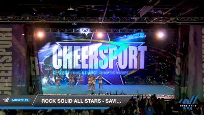 Rock Solid All Stars - Saviors [2020 International Open Coed 4 Day 2] 2020 CHEERSPORT National Cheerleading Championship