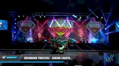 Richmond Twisters - Junior Lightning [2021 L3 Junior - D2 - Small - A Day 2] 2021 Spirit Sports: Battle at the Beach