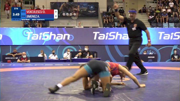 49 kg Final 3-5 - Delia Gabriela Voiculescu, Romania vs Audrey Rae Jimenez, United States