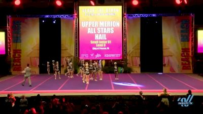 Upper Merion All Stars - Hail [2018 Junior--Small--D1 Day 1] ACDA Reach The Beach OC All Star and College Nationals