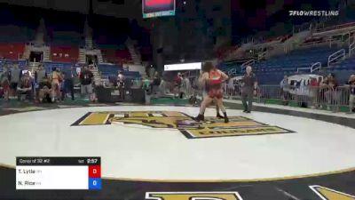 145 lbs Consi Of 32 #2 - Trent Lytle, Wyoming vs Noah Rice, Pennsylvania