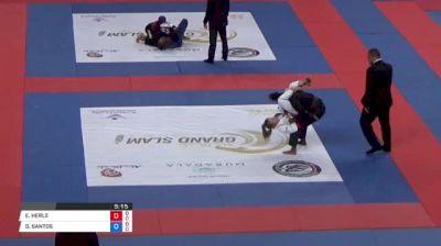 ERIN HERLE vs DAYANA SANTOS Abu Dhabi Grand Slam Rio de Janeiro