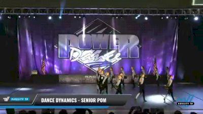 Dance Dynamics - Senior Pom [2021 Senior - Pom Day 1] 2021 ACP Power Dance Nationals & TX State Championship
