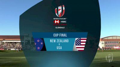 New Zealand vs USA Cup Final | 2018 HSBC Women's 7s Colorado
