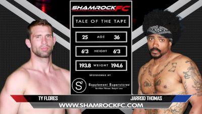 Ty Flores vs. Jarrod Thomas - Shamrock FC 305 Replay