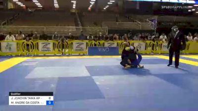 JOHNNY JOACHIN TAMA APOLINARIO vs MARCIO ANDRE DA COSTA BARBOSA JU 2020 Pan Jiu-Jitsu IBJJF Championship