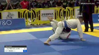 JOSEPH ALFRED DE LA MORA vs DAYTON T. BIGGS 2021 Pan Jiu-Jitsu IBJJF Championship