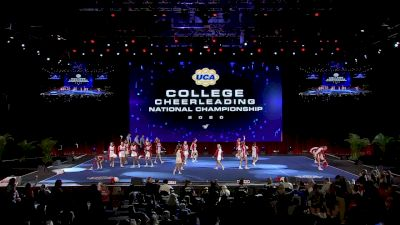 Western Kentucky University [2020 All Girl Division IA Semis] 2020 UCA & UDA College Nationals