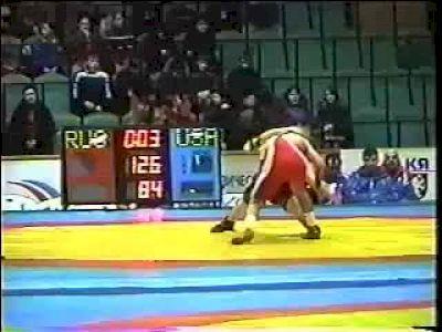 2004 Ivan Yarygin Memorial International Cael Sanderson vs Adam Saitiev