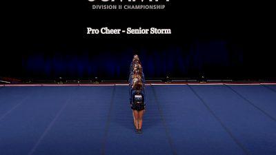 Pro Cheer - Senior Storm [2021 L4.2 Senior Coed - Small Finals] 2021 The D2 Summit