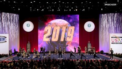 A Look Back At The Cheerleading Worlds 2019 - Senior Large Coed Medalists