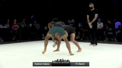 PJ Barch vs Andrew Solano Emerald City Invitational