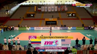NORCECA: United States vs Colombia