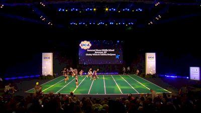 Somerset Meece Middle School [2020 Junior High Non Tumbling Game Day Finals] 2020 UCA National High School Cheerleading Championship