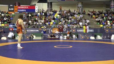 79 kg Finals: Alexander Dieringer, USA vs Akhsarbek Gulaev, Solvakia