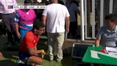 Paul Lasike Gets A Red Card