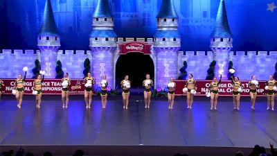 North Dakota State University [2019 Division I Pom Semis] UCA & UDA College Cheerleading and Dance Team National Championship
