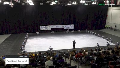 Palm Desert Charter MS at 2019 WGI Guard West Power Regional - Cox Pavilion