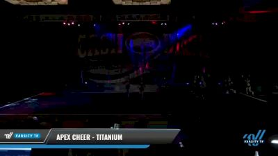 Apex Cheer - Titanium [2021 L3 Senior Coed - D2 Day 2] 2021 ACP Cash Bash Championship
